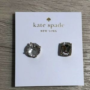 Kate Spade Mismatched Asymmetrical Stud Earrings